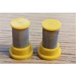 Poly Tip Strainer Filter 2 Pack