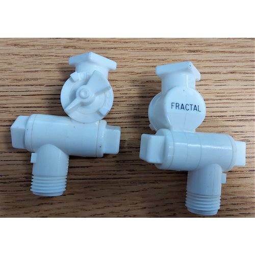 Spraying Systems 8600-1/4T-NYB With On/Off Valve White 2 Pack
