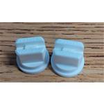 Fractal Nozzle Tip Sprayer 005F65 White 2 Pack