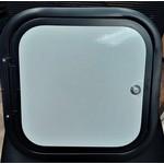 Lippert Components Baggage Door 14 x 14 WHT/BLK