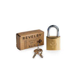 Revelry Supply Revelry - The Luggage Lock - Brass