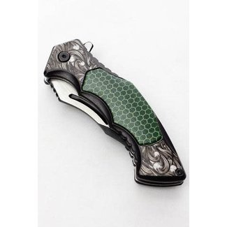 Tactical hunting knife DS7204 Green-4108