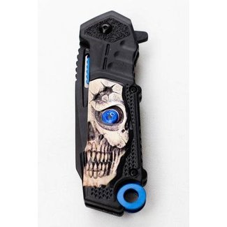 Tactical hunting knife DS7137 Blue-4114
