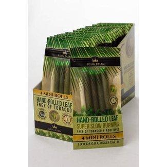 King Palm Hand-Rolled Leaf 4 Mini Rolls