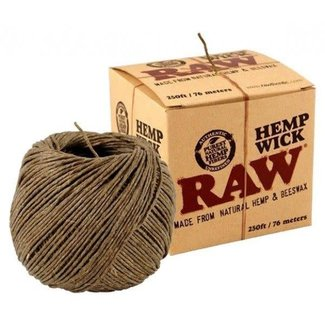 Raw Raw Hemp Wick Large