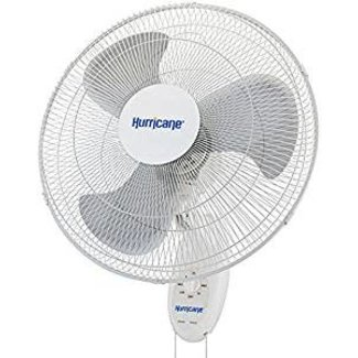 Hurricane Hurricane Supreme Oscillating Wall Mount Fan 18 in