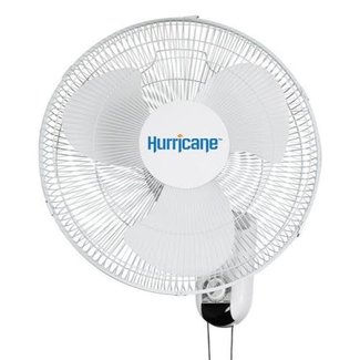 Hurricane Hurricane Classic Oscillating Wall Mount Fan 16 in