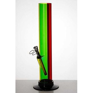 "12"" acrylic rasta water pipe 3148"