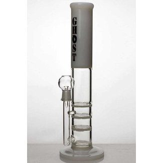 "13"" ghost 2-in-1 triple flat diffused bubbler 2010 White"