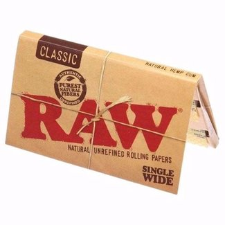 Raw Raw Natural Unrefined Single Wide