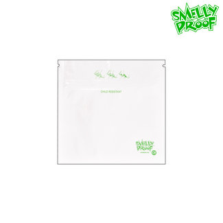 Smelly Proof White Smelly Proof Child Resistant Bags Small
