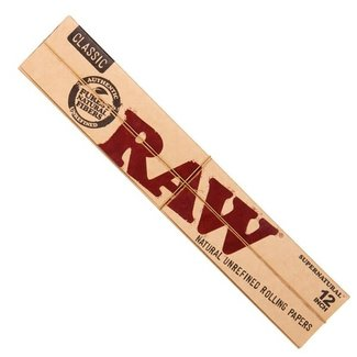 """Raw Raw Supernatural 12"""" Rolling Papers"""