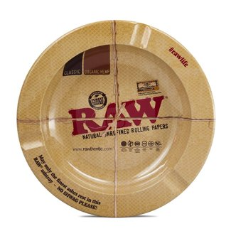 Raw Raw Metal Ashtrays