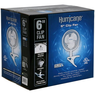 "Hurricane 6"" Clip Fan"