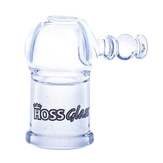 Hoss Concentrate dome, female joint, 19mm - black logo