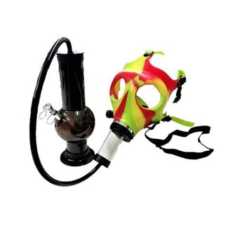 Herbies Gas Mask with Hose & Bubbler