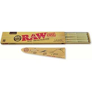 Raw Raw Classic Natural Unrefined Lean Cones