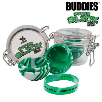 Buddies Buddies Super Slick Ball W/ Acrylic Jar