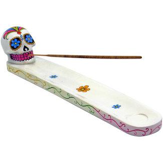 West Coast Gifts Skull Incense Holder
