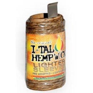 I-tal I-Tal Hemp Wick Lighter Sleeve 20Ft