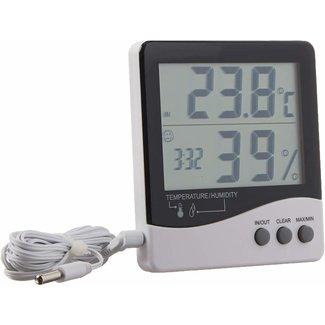 Grower's Edge Grower's Edge Large Display Thermometer / Hygrometer