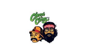Cheech & Chong Glass