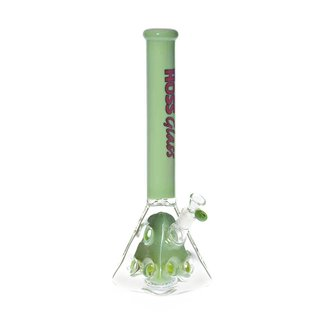 "Hoss Holey Pyramid Beaker with Coloured Top and Inner Section (18"") and Carry Case"