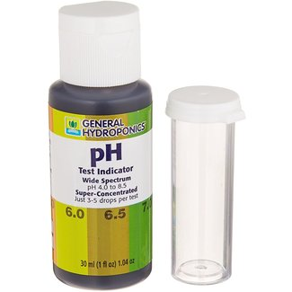 General Hydroponics GH pH Test Kit 1 oz