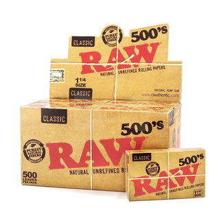 Raw RAW Classic 500's