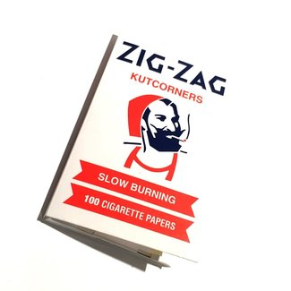 ZigZag Zig Zag Kutcorners White Slowburn Rolling Papers