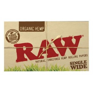 Raw Organic Hemp Single Wide