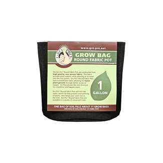 Gro Pro Gro Pro Premium Round Fabric Pot EACH