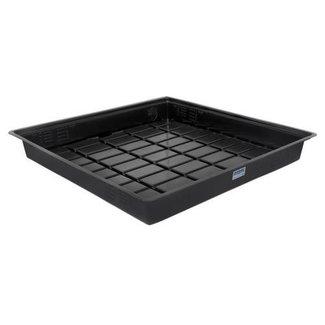 Duralastics Duralastics Tray 4 ft x 4 ft ID - Black