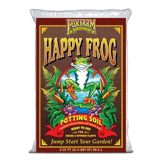 Fox Farm Happy Frog Potting Soil 2.0 Cu Ft (56.6L)