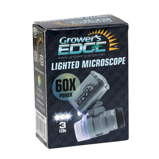 Grower's Edge Grower's Edge Universal Cell Phone Illuminated Microscope w/ Clip - 60x