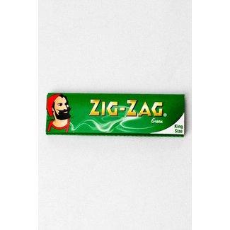 ZigZag Zig Zag Green King Size