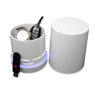The Stash Can Voice-Activated Smell Proof Stash Box