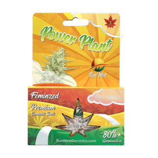Sunwest Genetics Power Plant Feminized (3 Pack)