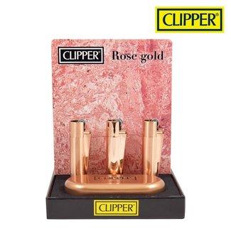 Clipper Clipper Rose Gold Metal w/ Case