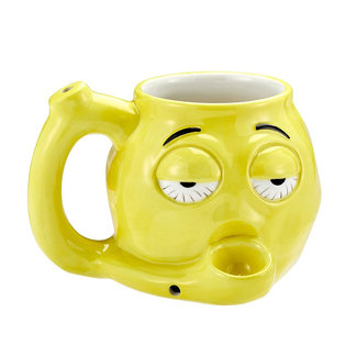 Fashion Craft Stoner Emoji Ceramic Mug Pipe