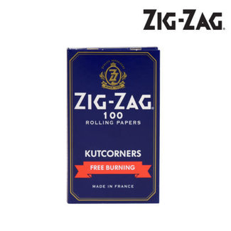 ZigZag Zig Zag Kutcorners Blue Free Burning Rolling Papers