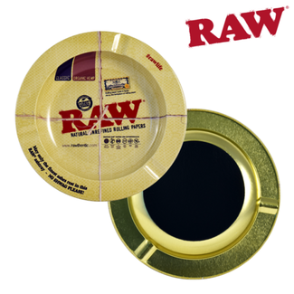 Raw Raw Metal Ashtray w/ Magnet