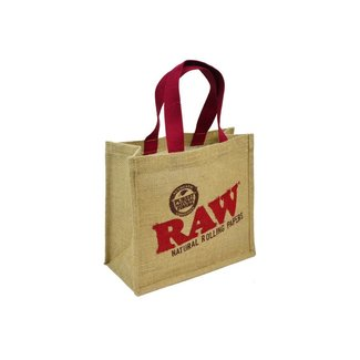 Raw Raw Burlap Bag