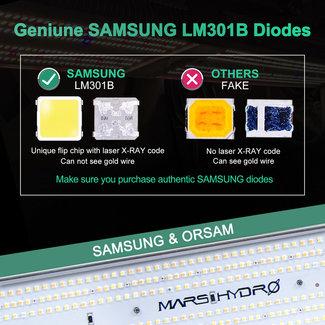 Mars Hydro SP 3000 300w Cover 2x5 (60x150cm) Samsung lm301b Osram full spectrum led plant grow light - Mars Hydro