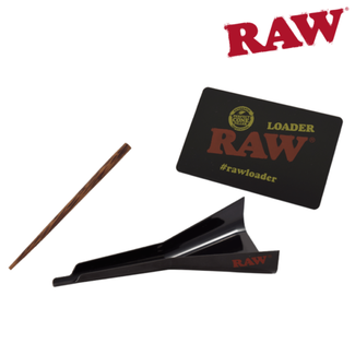 Raw Raw Loader 3 in 1 Scraper, Funnel/Loader and Wooden Packer