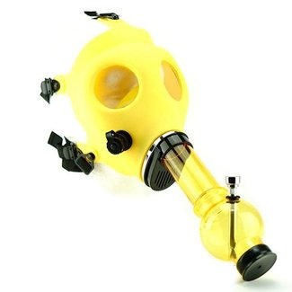 Big Dog Distribution Ltd Gas Mask with Acrylic Water Pipe
