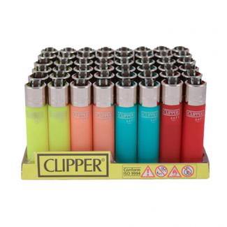 Big Dog Distribution Ltd Clipper Soft Translucent Color Lighters