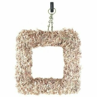 Super Moss Sphagnum Moss Living Wreath Natural 11in Square