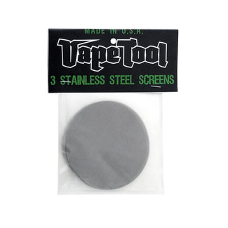 Vape Tool VapeTool Steel Screen 3 per pack
