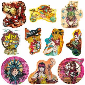 Sean Dietrich Art Sean Dietrich Art - Sticker Series - Volume 2
